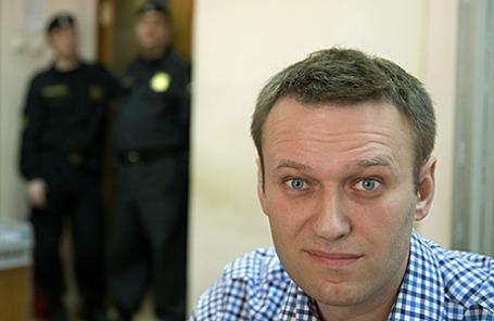 Российский политический деятель Алексей Навальный.