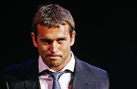 Футболист Александр Кержаков.