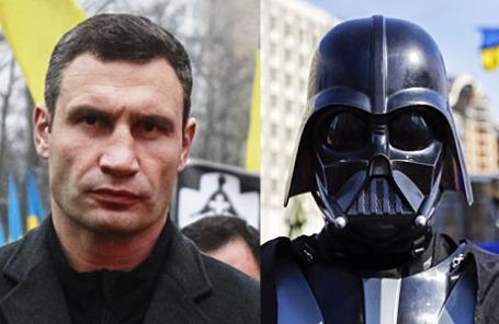 Виталий Кличко и Дарт Вэйдер