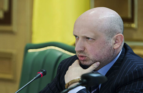 Исполняющий обязанности президента Украины Олександр Турчинов.