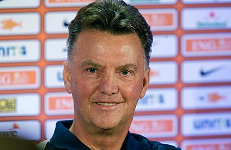 Футбольный тренер Луи ван Гаал.