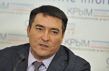 Первый вице-премьер Крыма Рустам Темиргалиев.