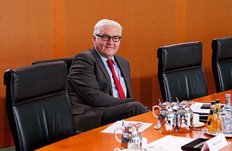 Франк-Вальтер Штайнмайер, министр иностранных дел Германии.