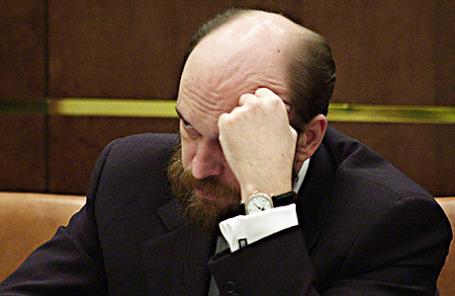 Бывший член Совета Федерации от Тувы Сергей Пугачев