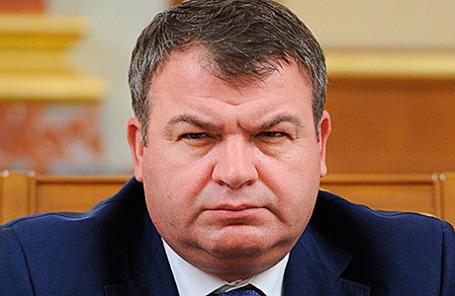 Экс-министр обороны РФ Анатолий Сердюков.