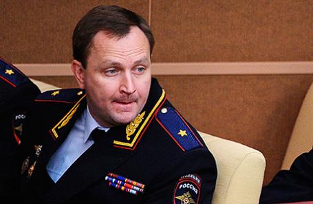 Бывший начальник ГУЭБиПК генерал-майор полиции Денис Сугробов.