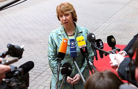 Глава внешнеполитического ведомства ЕС Кэтрин Эштон.