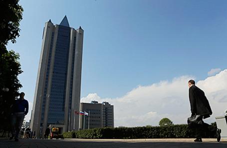 Здание главного офиса «Газпрома» в Москве.