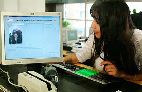 Оформление биометрических виз в посольстве Великобритании.