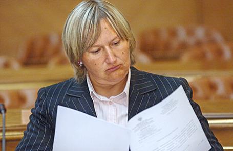 Российская предпринимательница Елена Батурина.
