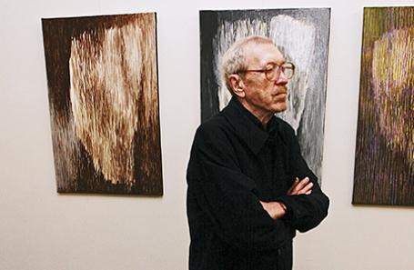 Художник Игорь Вулох. Москва, 2008 год.