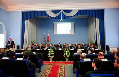 Заседание коллегии Федеральной службы по оборонному заказу.