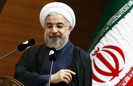 Президент Ирана Хасан Рухани.