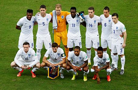 Сборная Англии по футболу.