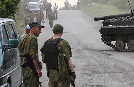 Украинские военнослужащие.
