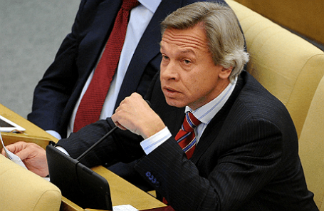 Глава комитета Госдумы РФ по международным делам Алексей Пушков.