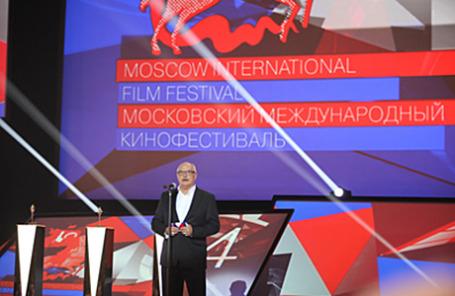 Режиссер Никита Михалков на открытии Московского международного кинофестиваля.