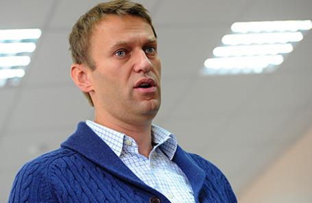Блогер Алексей Навальный.