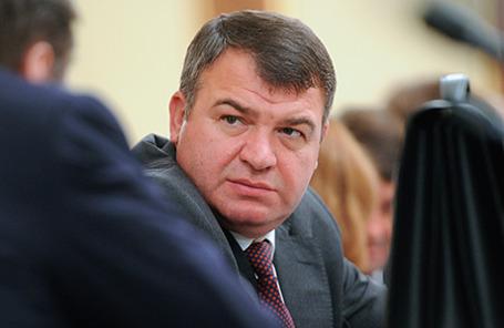 Экс-министр обороны Анатолий Сердюков.