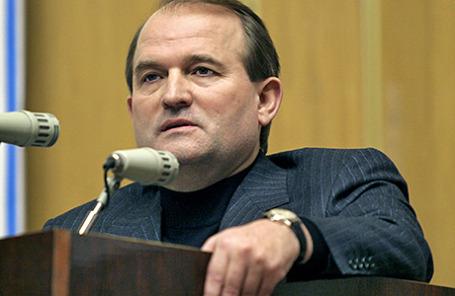 Украинский политик Виктор Медведчук.