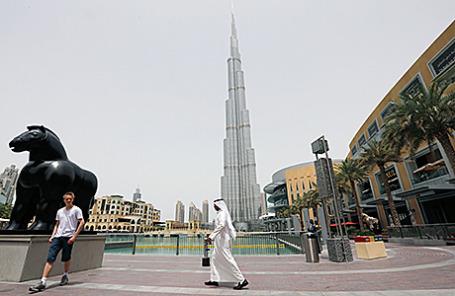 Бурдж Халифа, Дубай.