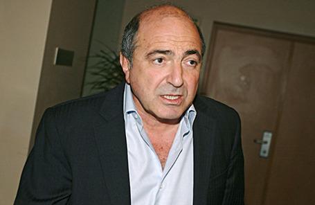 Бизнесмен Борис Березовский.