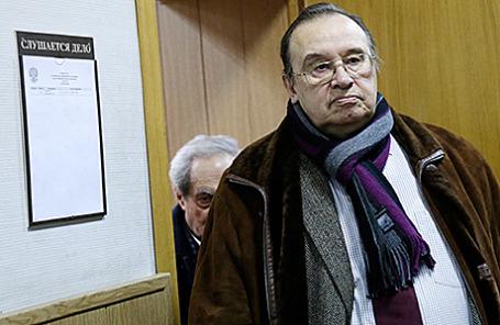 Бывший ректор МАрхИ Александр Кудрявцев и его заместитель Илья Лежава (справа налево).