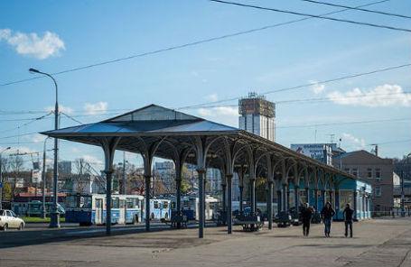 Конечная станция «Лужники Южная», современный вид