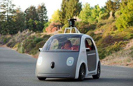 Новый самоуправляемый автомобиль от создателей Google.