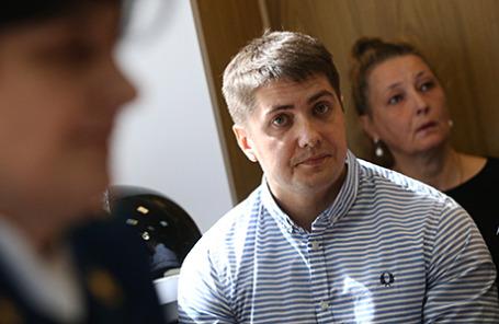 Оглашение приговора бывшему следователю по особо важным делам СК РФ Андрею Гривцову.