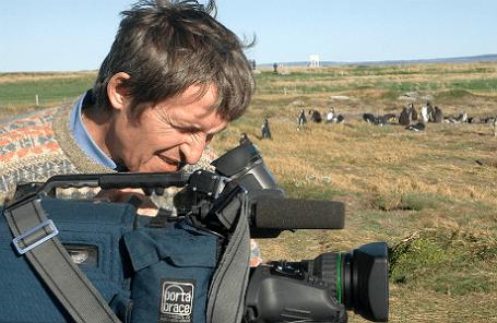 Оператор «Первого канала»  Анатолий Клян, 2004 год.