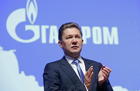 Председатель правления ОАО «Газпром» Алексей Миллер.