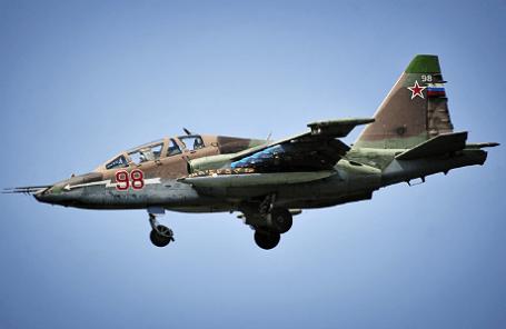 Самолеты штурмовой авиации Су-25.