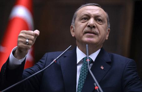 Премьер-министр Турции Реджеп Тайип Эрдоган.
