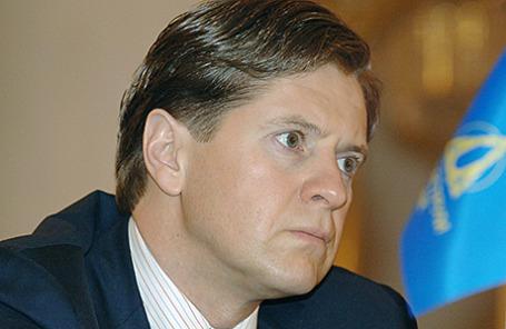Бывший президент Банка Москвы Андрей Бородин 2006 г.