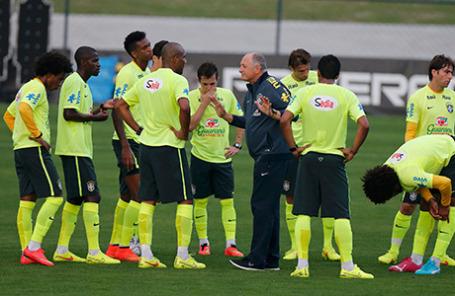 Сборная Бразилии по футболу.