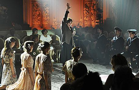 Генеральный прогон митинг-оперы «Крым» в Санкт-Петербурге.