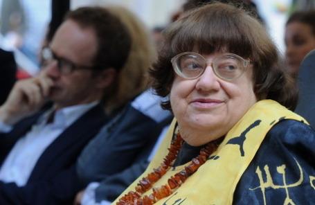 Валерия Новодворская на церемонии вручения премии
