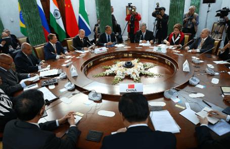 Переговоры в рамках саммита БРИКС