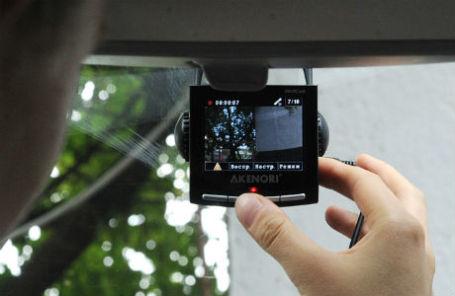 Автомобильный видеорегистратор.