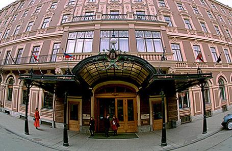 Гранд-отель «Европа» в Санкт-Петербурге.