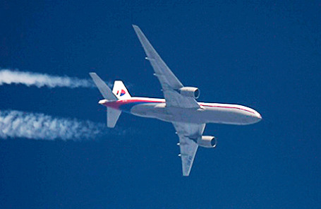 Boeing 777 авиакомпании Malaysia Airlines.