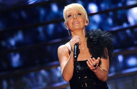 Певица Валерия.