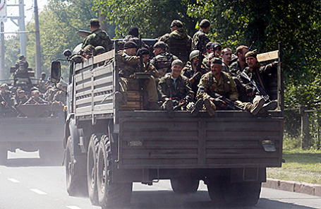 Ополченцы на Украине.