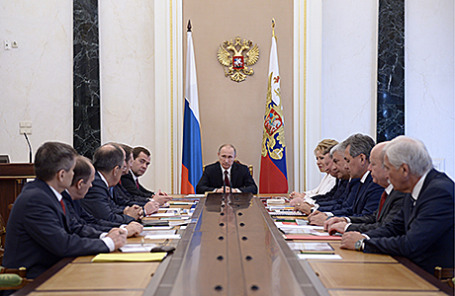Заседание Совета Безопасности РФ.
