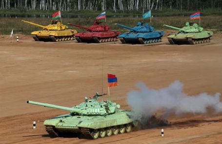 Чемпионат по танковому биатлону-2013