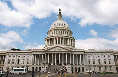 Капитолий. Вашингтон, США.