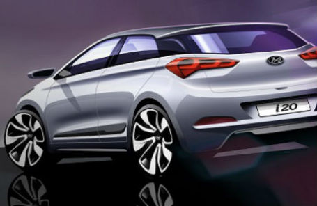 Дизайн новой Hyundai i20