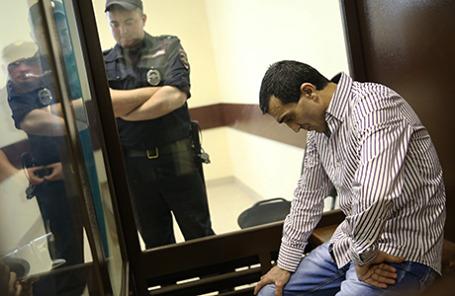 Оглашение приговора Грачье Арутюняну, обвиняемому в ДТП с 18 погибшими под Подольском.