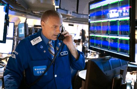 Сотрудник Нью-Йоркской фондовой биржи.
